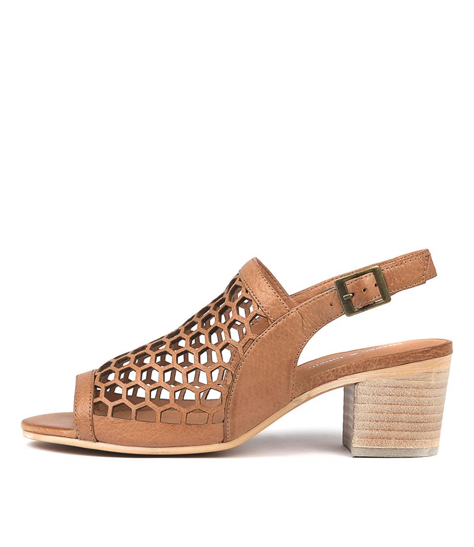 Buy Django & Juliette Bikkis Dk Tan Heeled Sandals online with free shipping