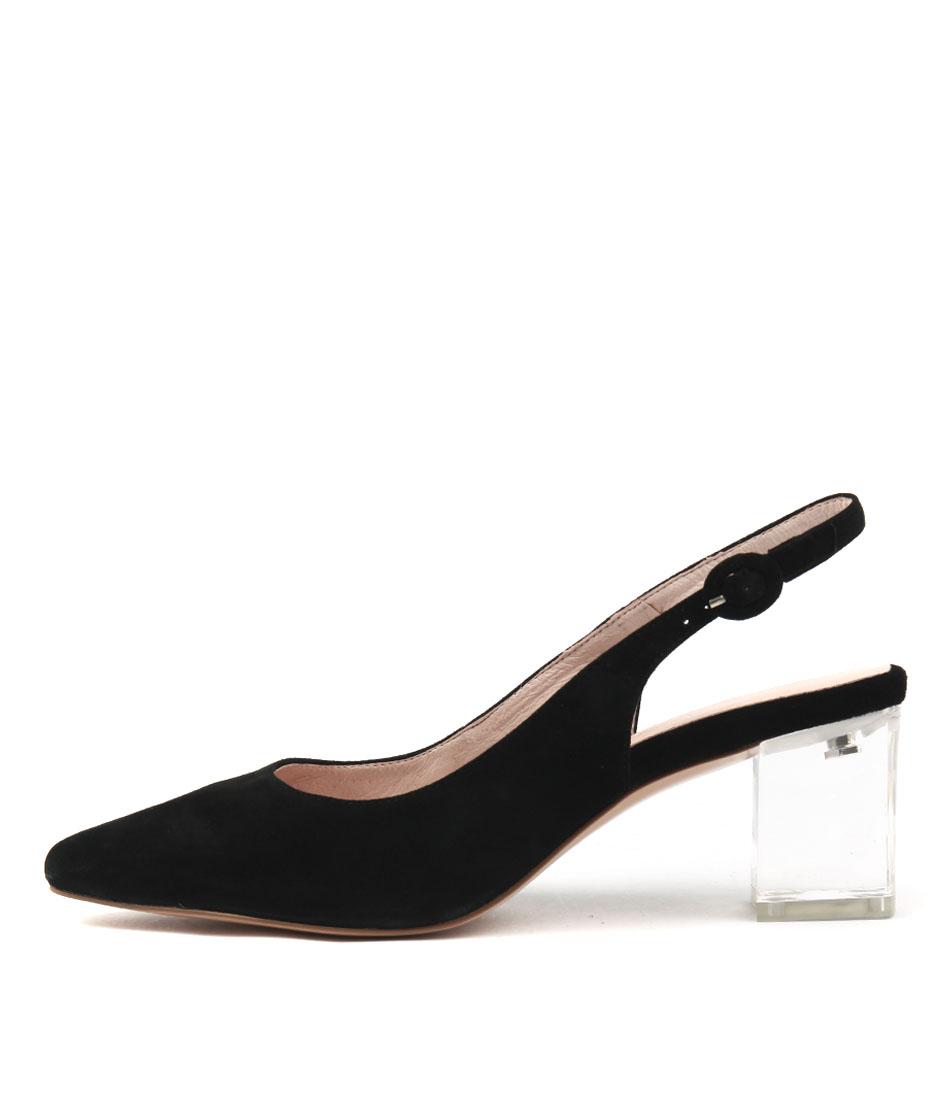 Buy Django & Juliette Hinnis Black High Heels online with free shipping