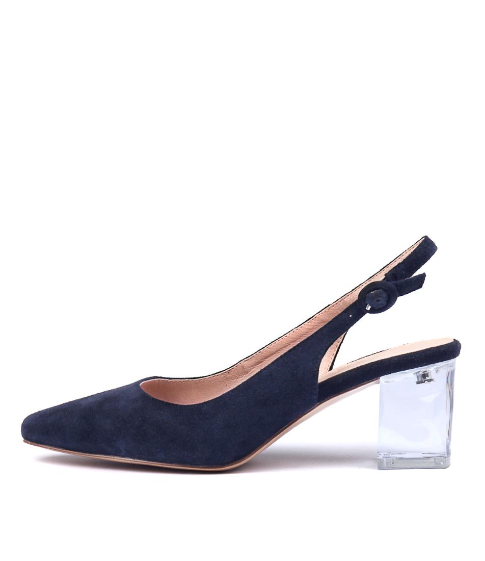 Buy Django & Juliette Hinnis Navy High Heels online with free shipping