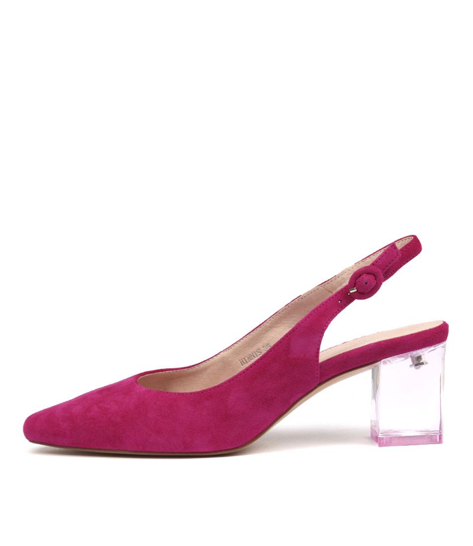 Buy Django & Juliette Hinnis Fuchsia High Heels online with free shipping