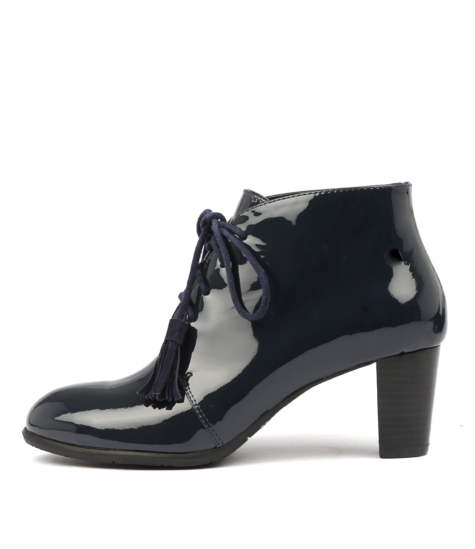 Photo of Django & Juliette Airwave Navy Ankle Boots womens shoes