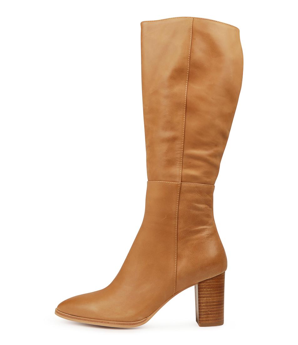 Buy Django & Juliette Allouta Tan Long Boots online with free shipping