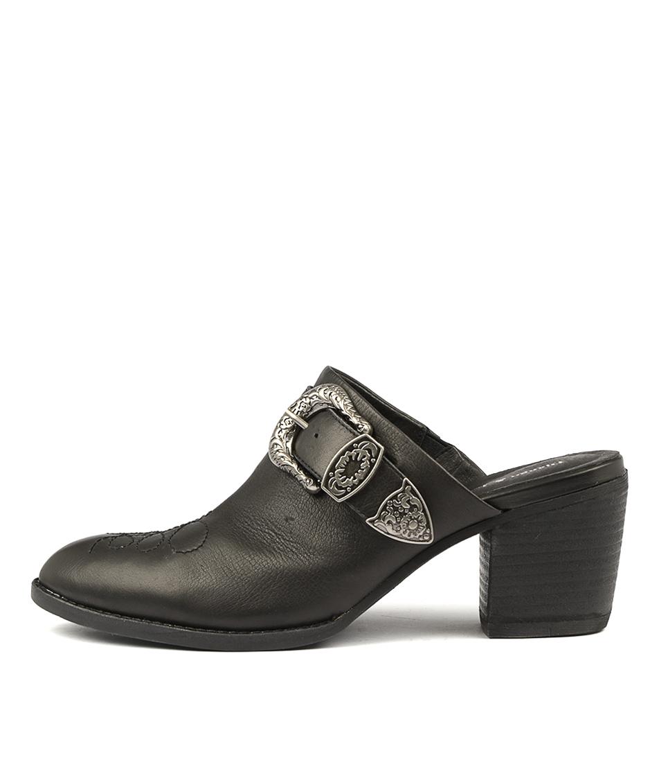 Buy Django & Juliette Boatsie Black High Heels online with free shipping