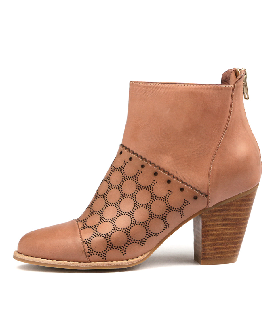Django & Juliette Calibrate Blush Ankle Boots