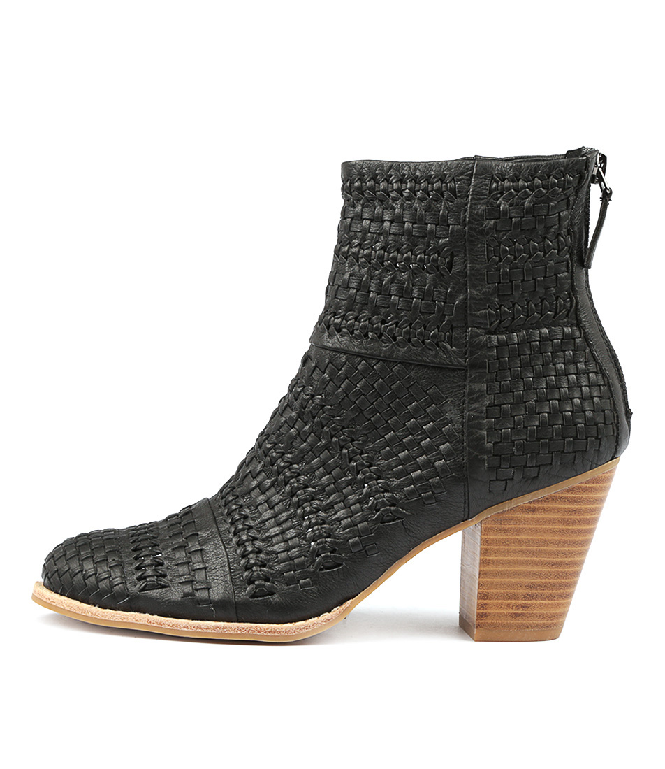 Buy Django & Juliette Canisery Black Ankle Boots online with free shipping