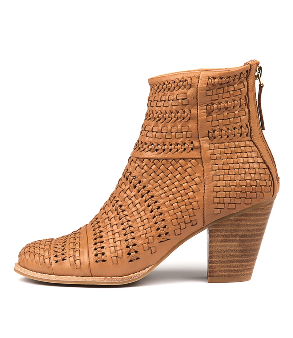 Buy Django & Juliette Canisery Tan Ankle Boots online with free shipping