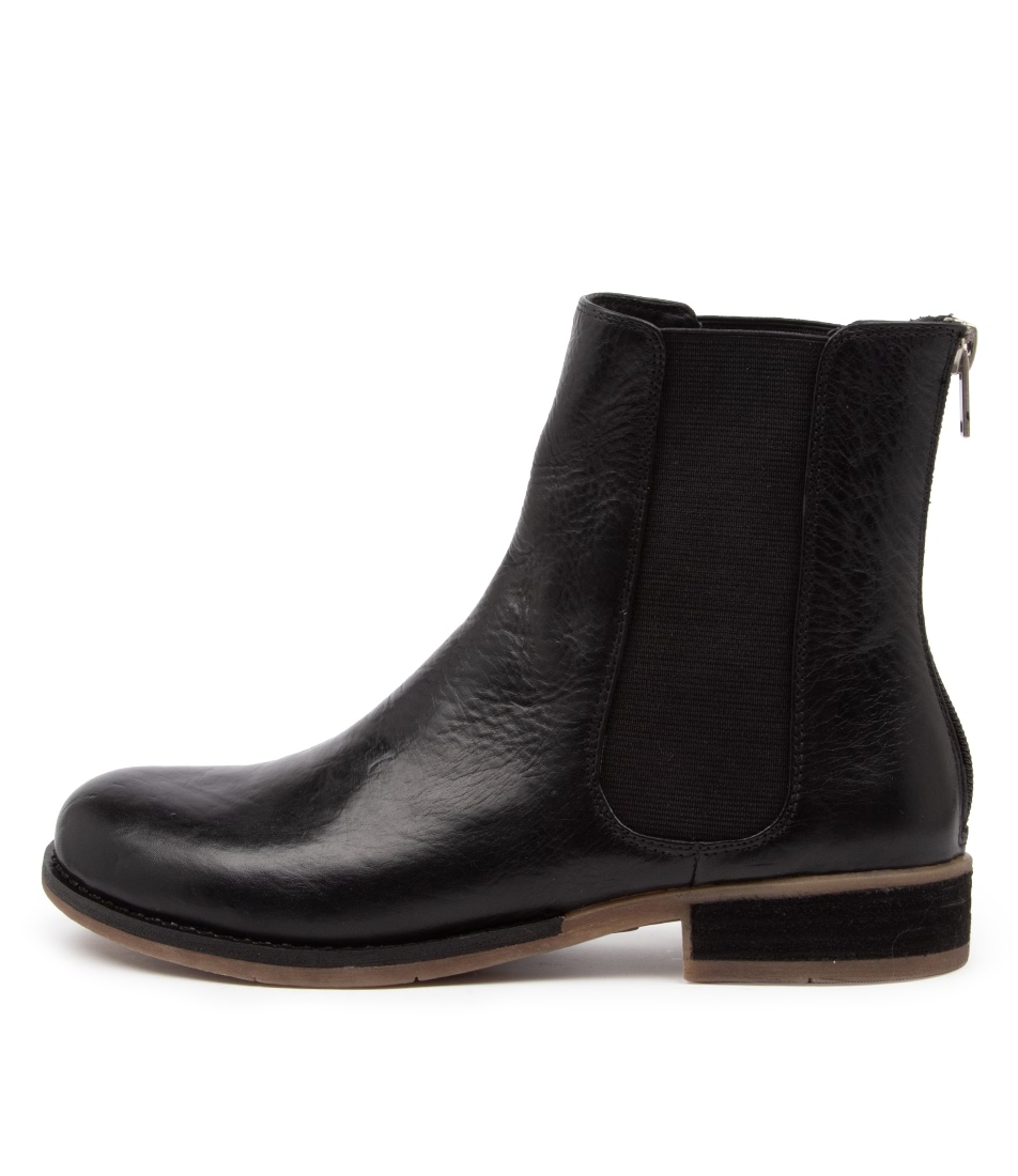 Buy Django & Juliette Collas New Black Ankle Boots online with free shipping