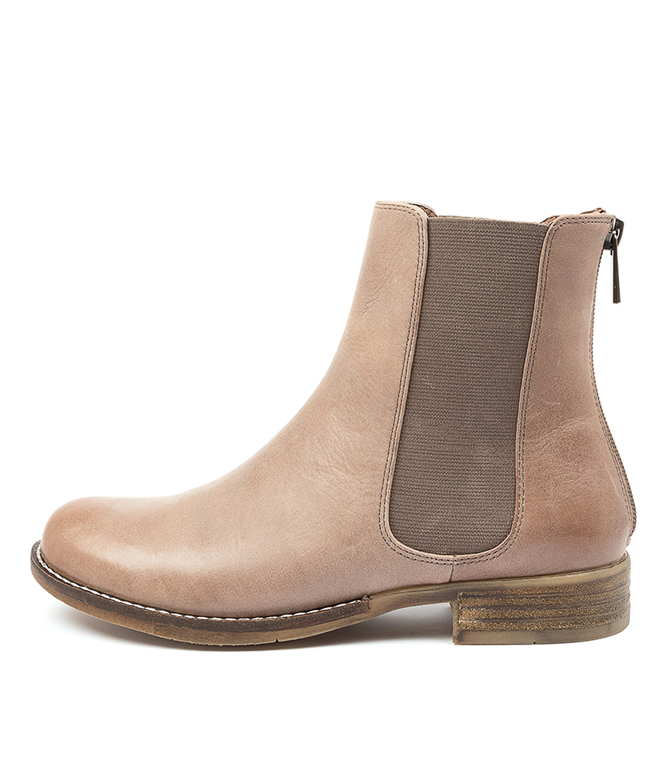 Buy Django & Juliette Collas Coffee Ankle Boots online with free shipping