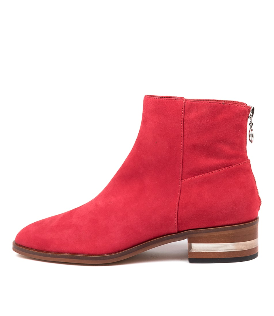 Buy Django & Juliette Flavor Red Ankle Boots online with free shipping