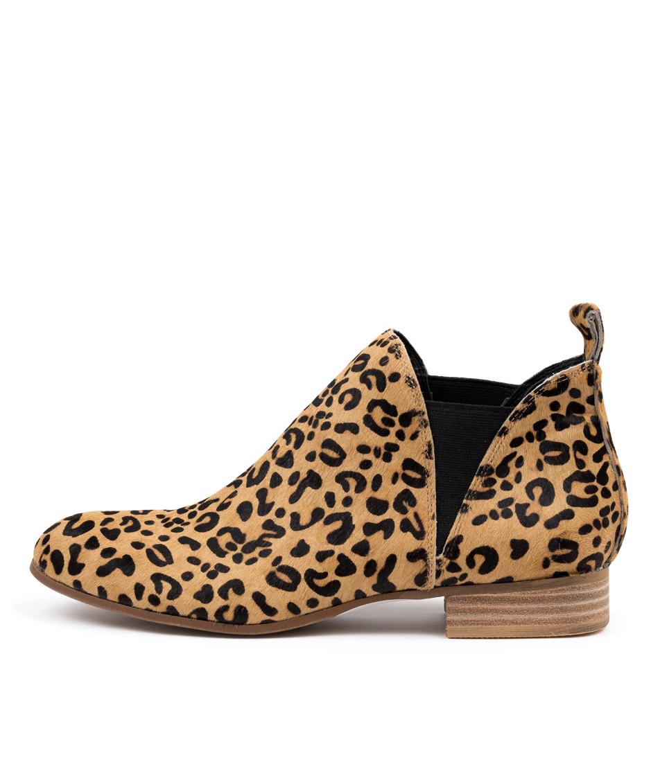 Buy Django & Juliette Foe Ocelot Ankle Boots online with free shipping