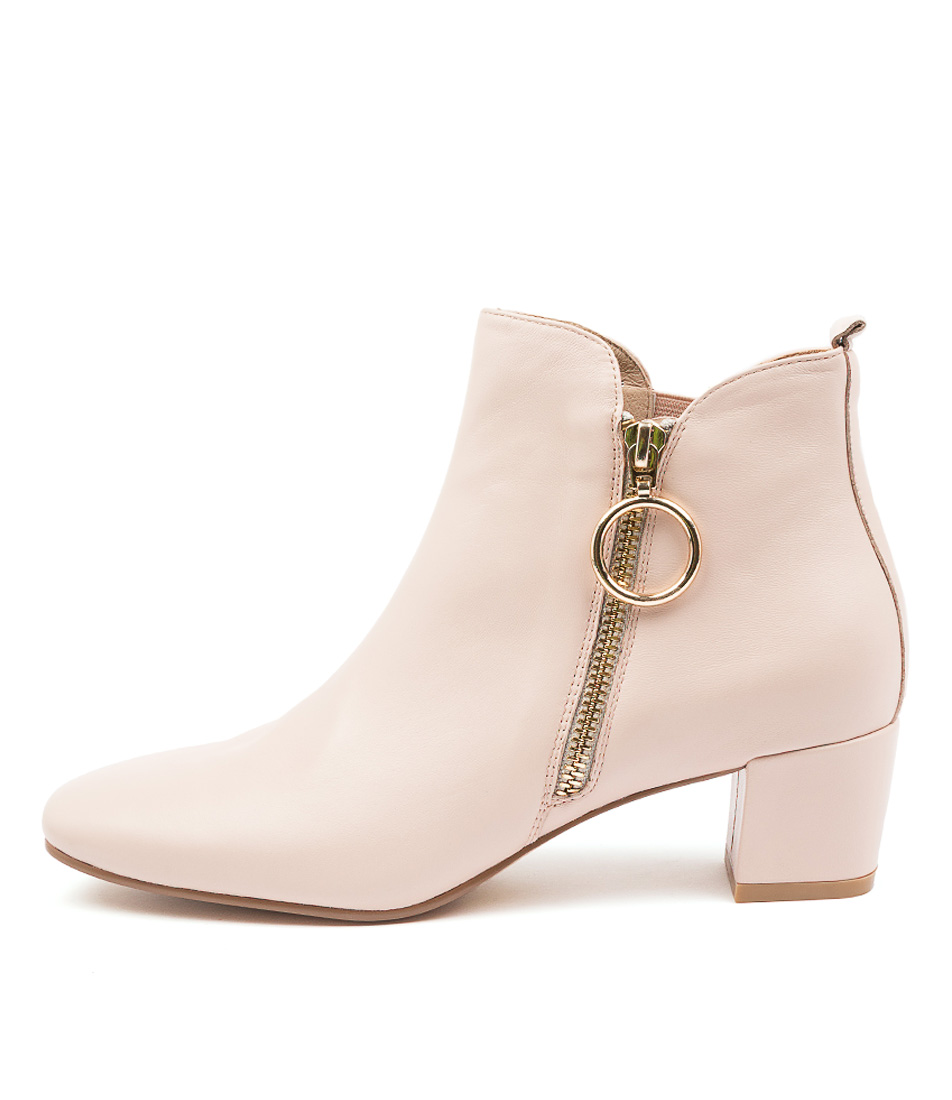 Buy Django & Juliette Halotte Nude Ankle Boots online with free shipping