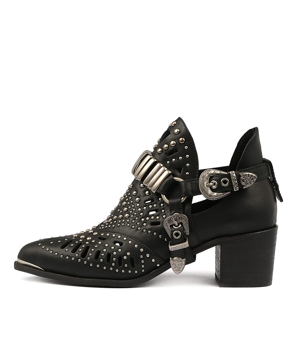 Buy Django & Juliette Hasper Black Ankle Boots online with free shipping