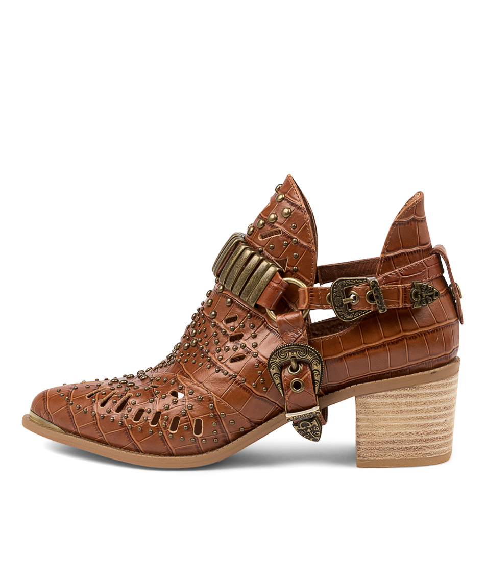 Buy Django & Juliette Hasper Choc Ankle Boots online with free shipping