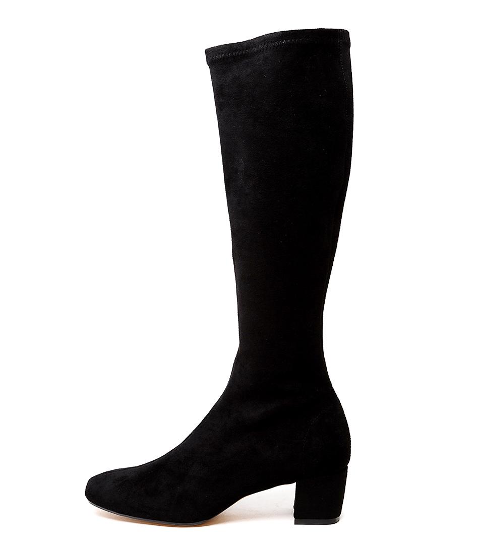 Buy Django & Juliette Hayleys Black Long Boots online with free shipping