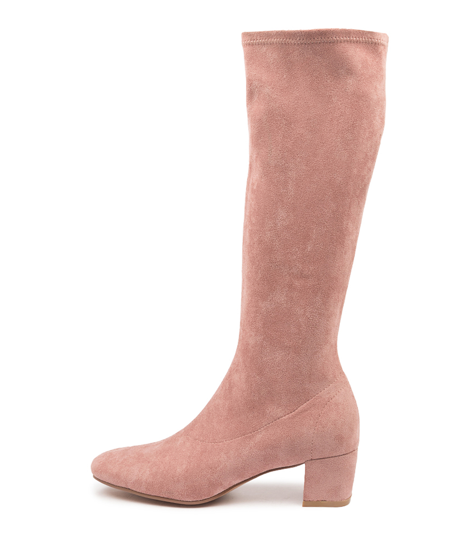 Buy Django & Juliette Hayleys Blush Long Boots online with free shipping