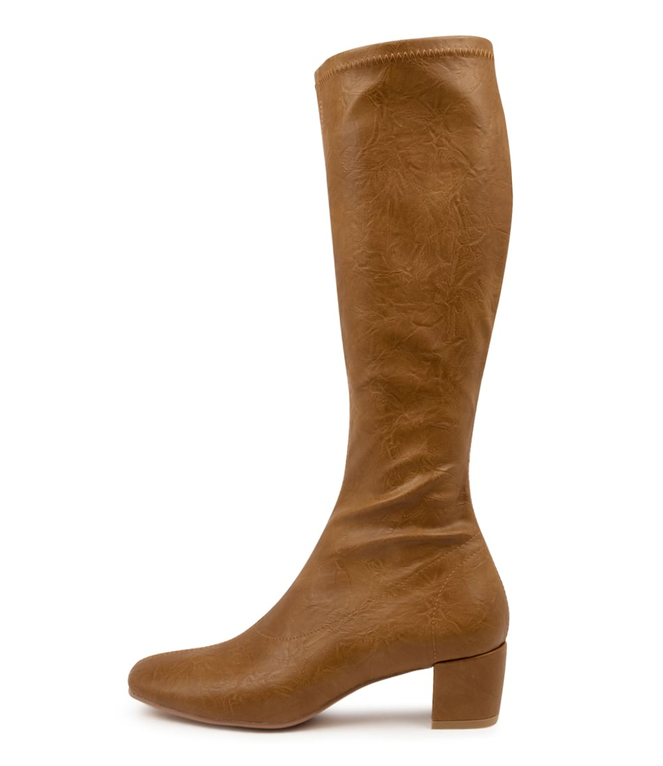 Buy Django & Juliette Hayleys Tan Long Boots online with free shipping