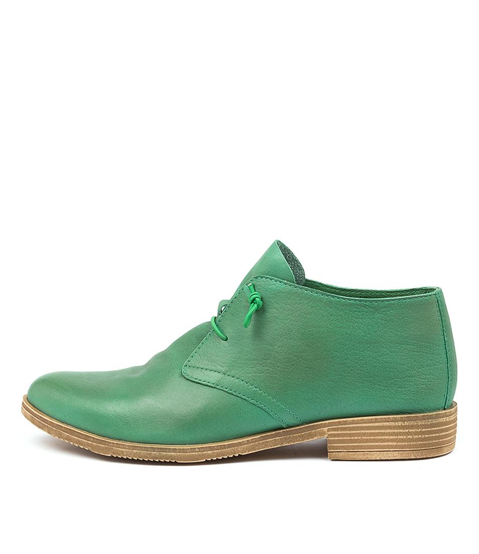 Buy Django & Juliette Karaf Emerald Flats online with free shipping