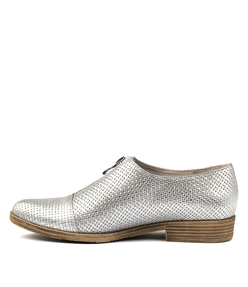 Photo of Django & Juliette Kasaroles Silver Flats, shop Django & Juliette shoes online
