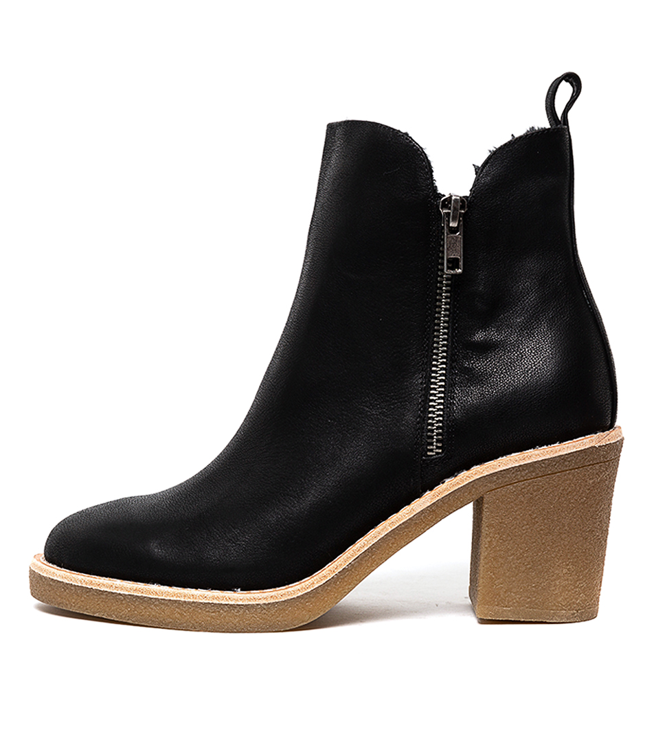 Buy Django & Juliette Klouie Black Ankle Boots online with free shipping