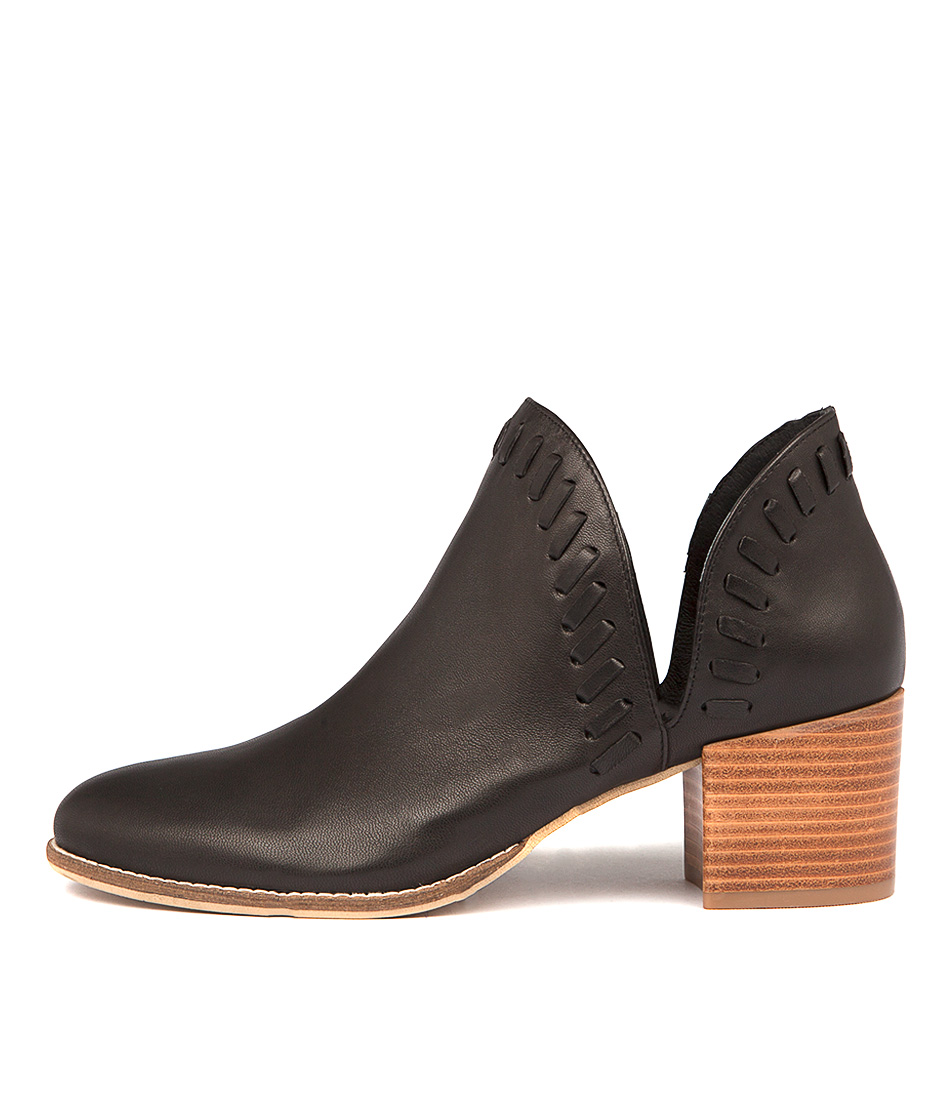 Django & Juliette Marisols Black Ankle Boots