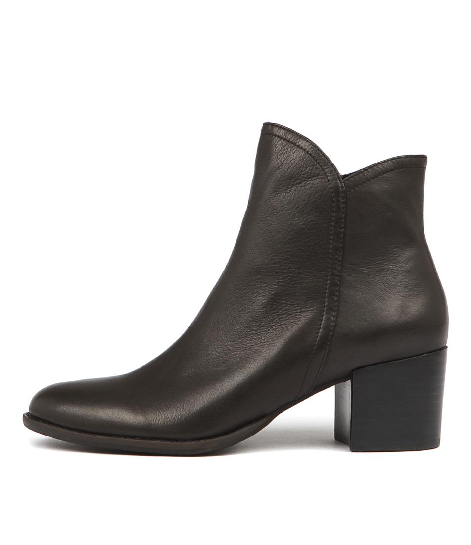 Buy Django & Juliette Mockas Black Ankle Boots online with free shipping
