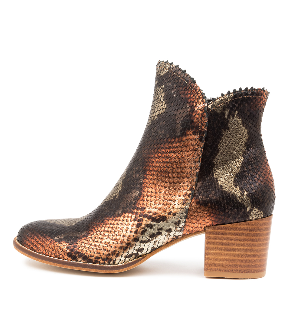 Buy Django & Juliette Mockas Rustic Ankle Boots online with free shipping