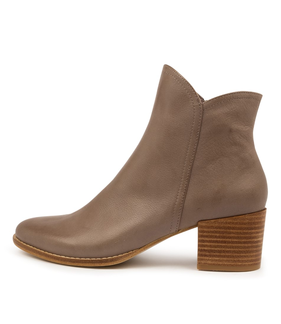 Buy Django & Juliette Mockas Taupe Ankle Boots online with free shipping