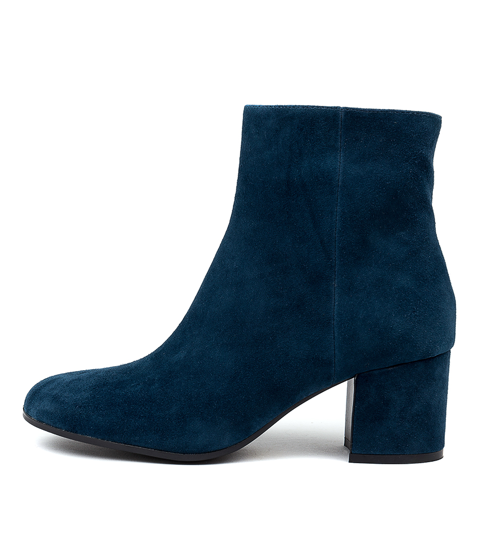 Buy Django & Juliette Nulu Teal Dress Ankle Boots online with free shipping