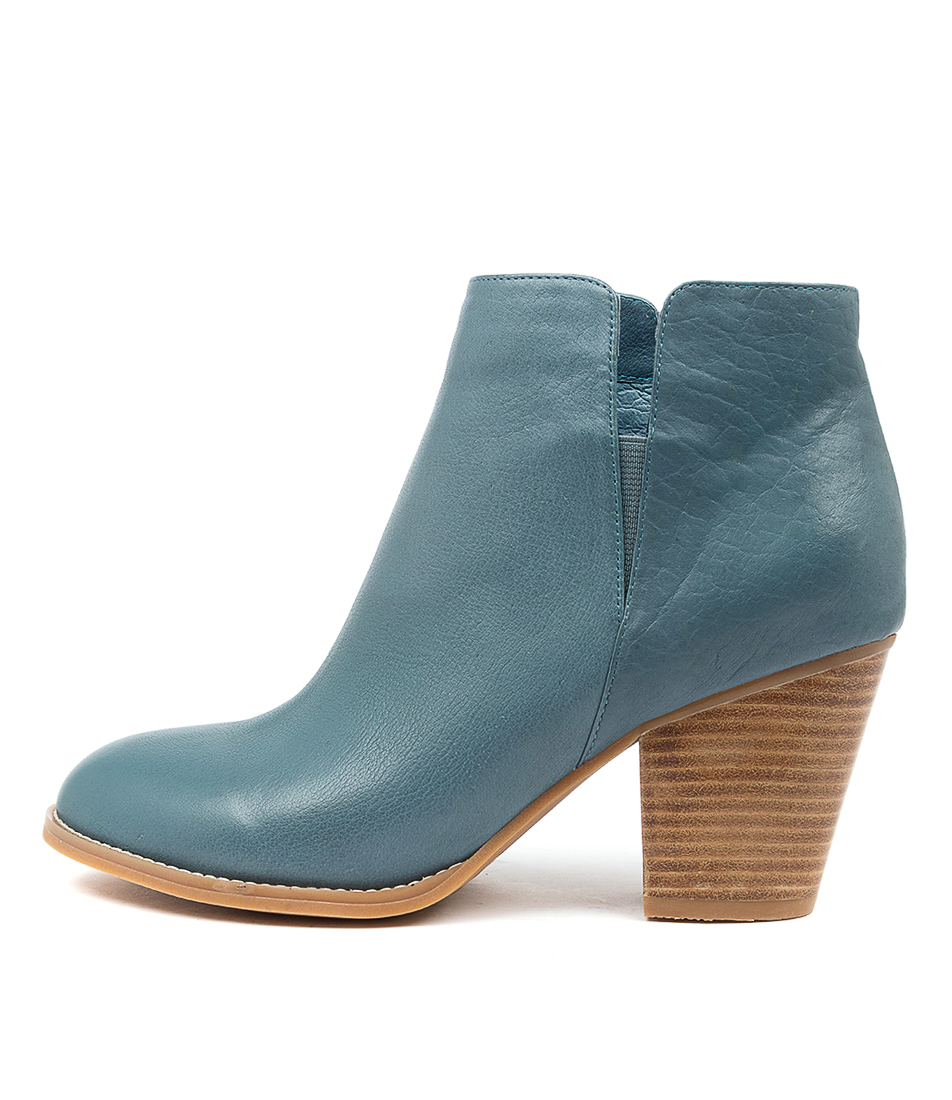 Buy Django & Juliette Releases Murky Blue Ankle Boots online with free shipping