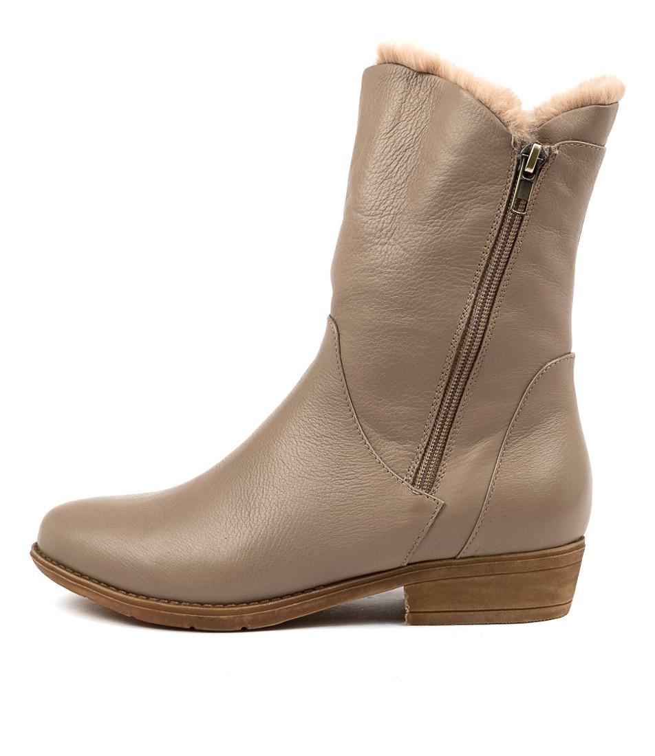 Buy Django & Juliette Rudo Ash Natural Calf Boots online with free shipping