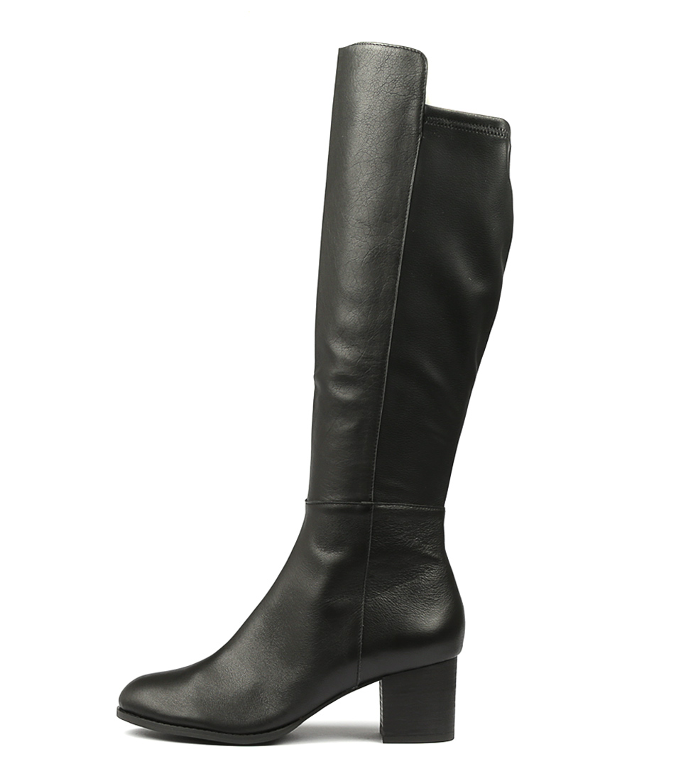 Buy Django & Juliette Setley Black Long Boots online with free shipping