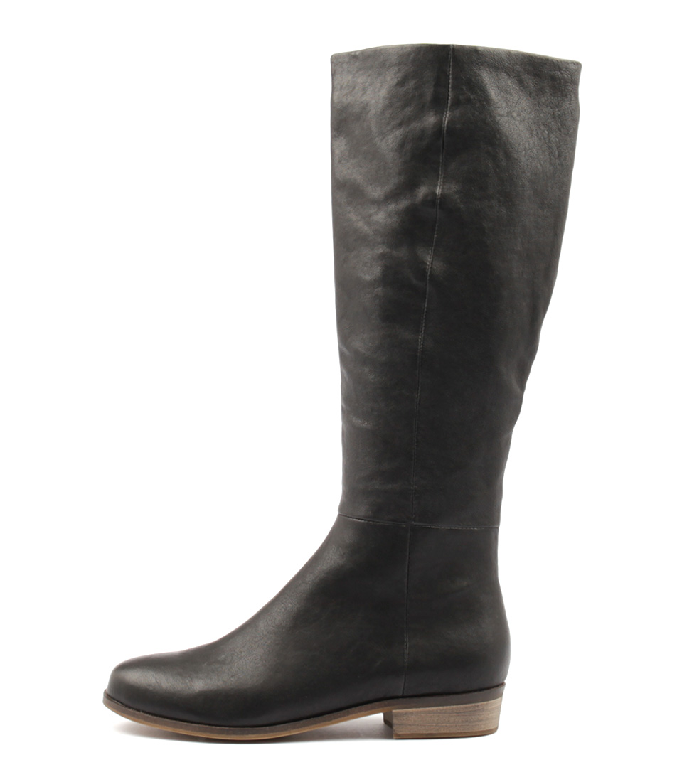 Buy Django & Juliette Strath Black Long Boots online with free shipping