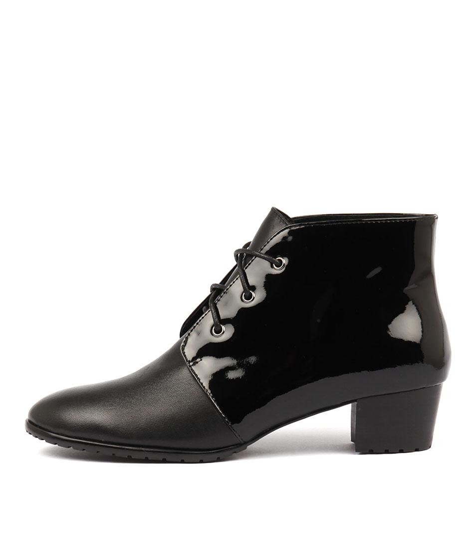 Photo of Django & Juliette Tankerm Black Black Ankle Boots womens shoes
