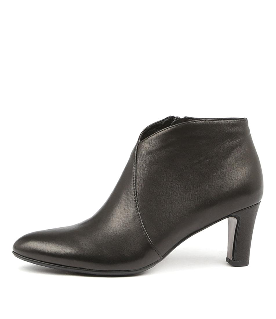 Buy Django & Juliette Templess Black Ankle Boots online with free shipping