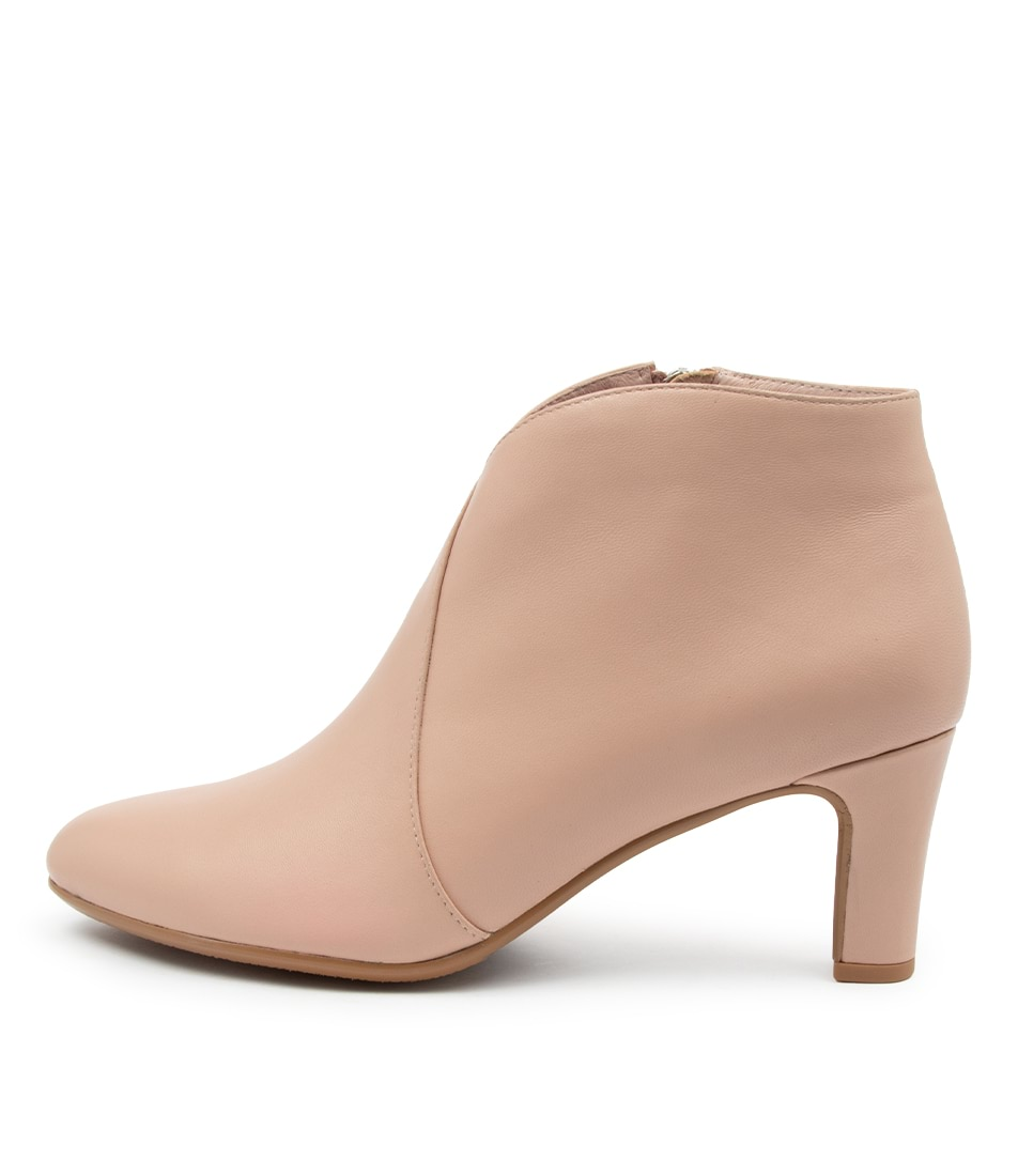 Buy Django & Juliette Templess Blush Ankle Boots online with free shipping