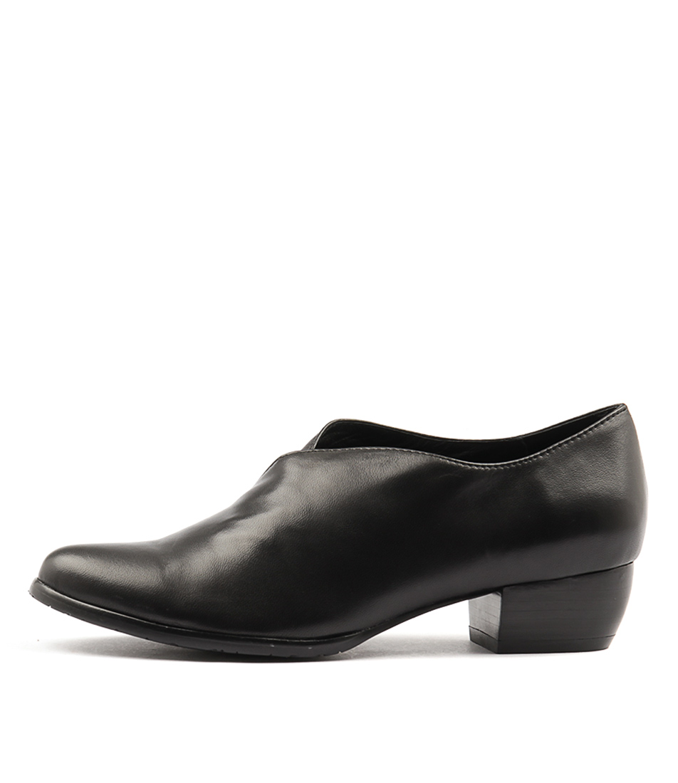 Django & Juliette Trackm Black Heeled Shoes