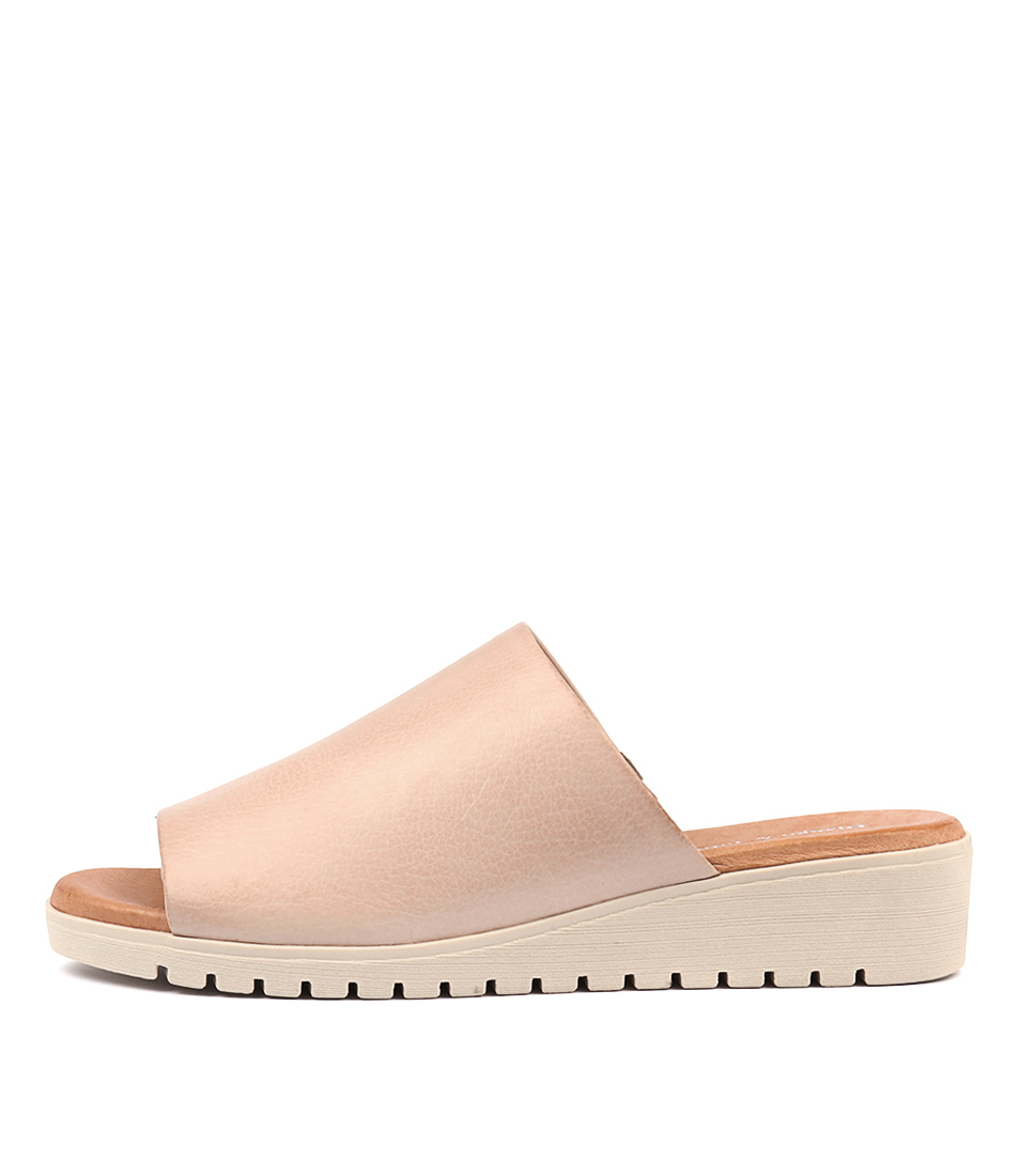 Buy Django & Juliette Merries Pale Pink Pale Flat Sandals online with free shipping