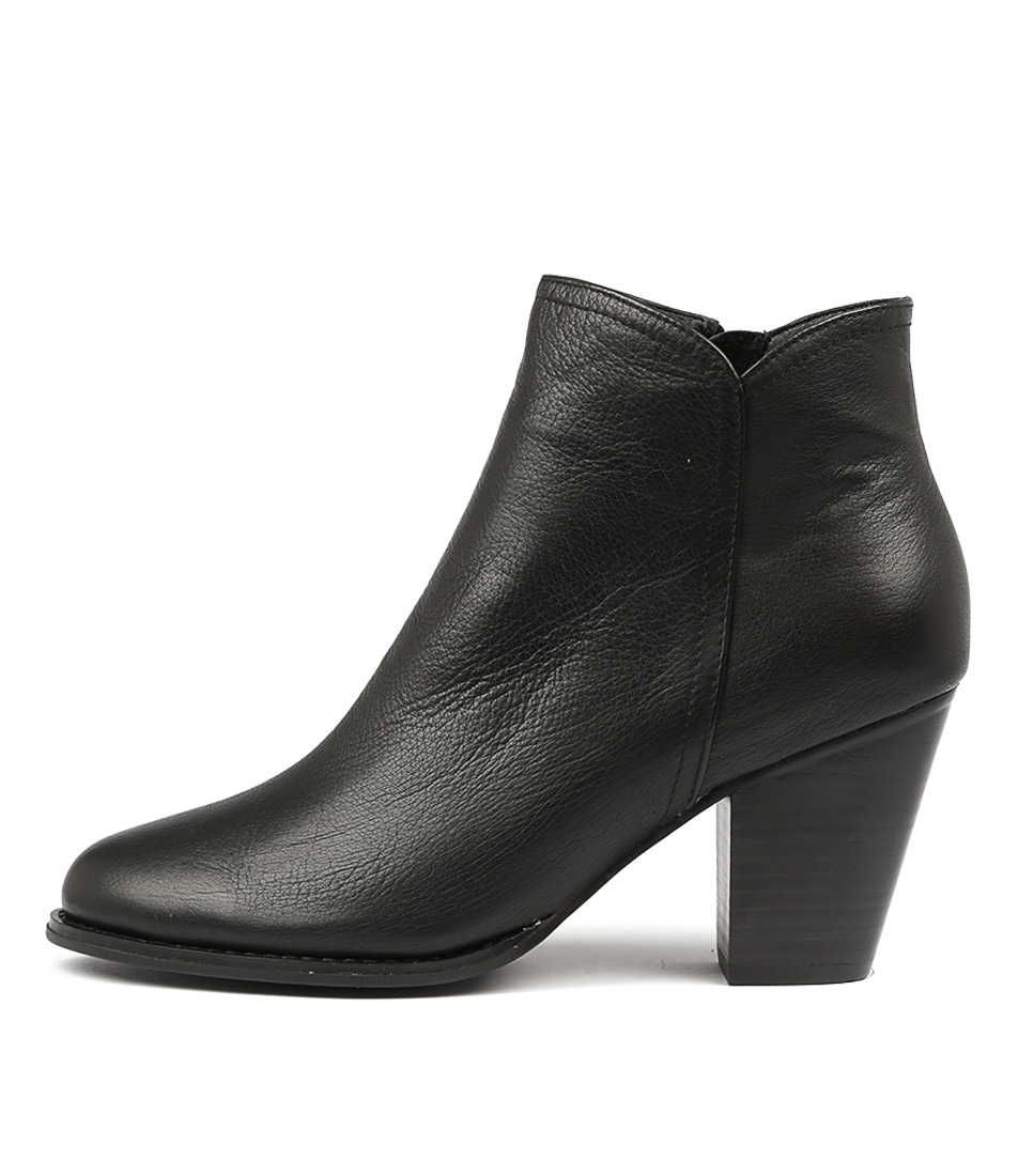 Buy Django & Juliette Cage Black Ankle Boots online with free shipping