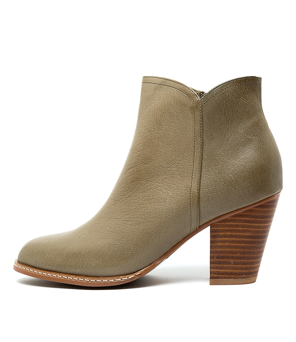 Buy Django & Juliette Cage Khaki Ankle Boots online with free shipping