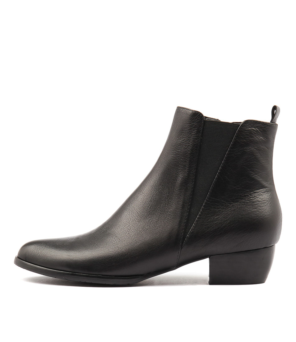 Buy Django & Juliette Tates Black Ankle Boots online with free shipping
