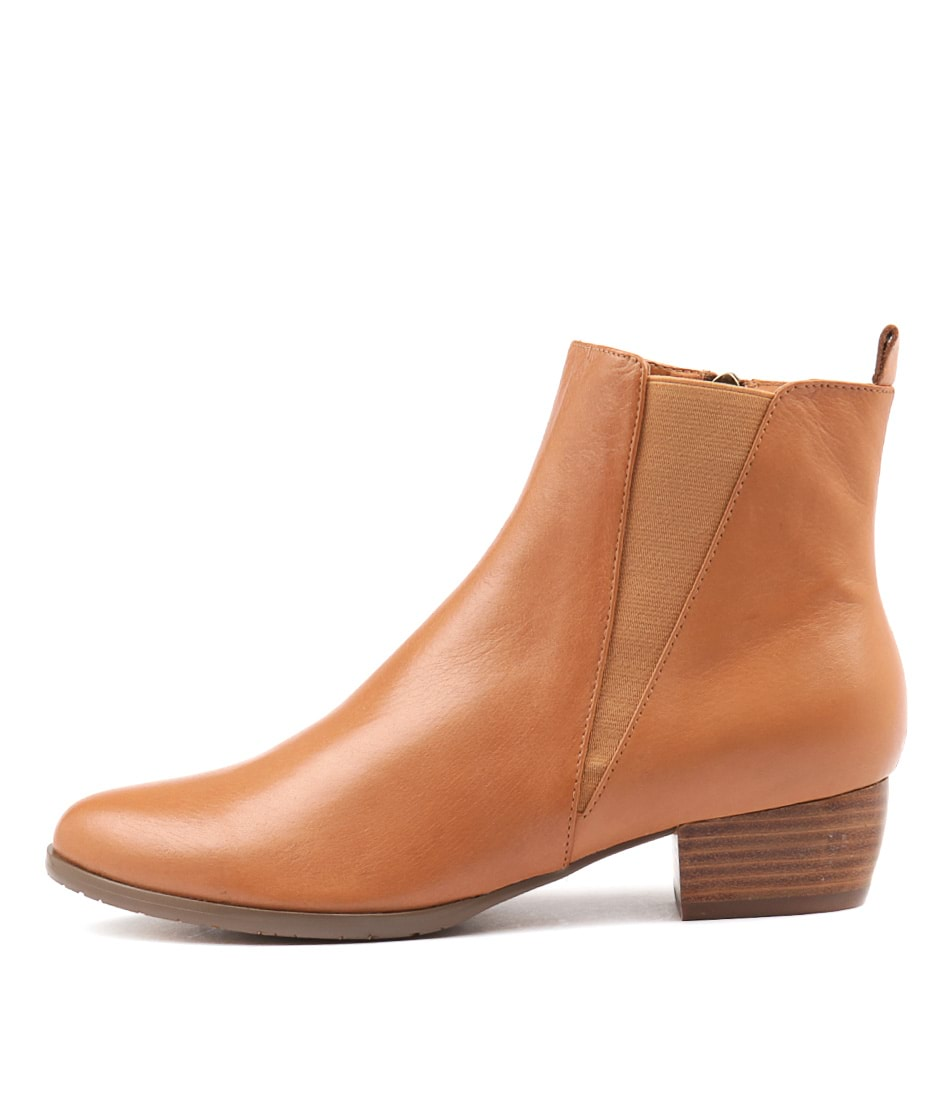 Buy Django & Juliette Tates Tan Ankle Boots online with free shipping