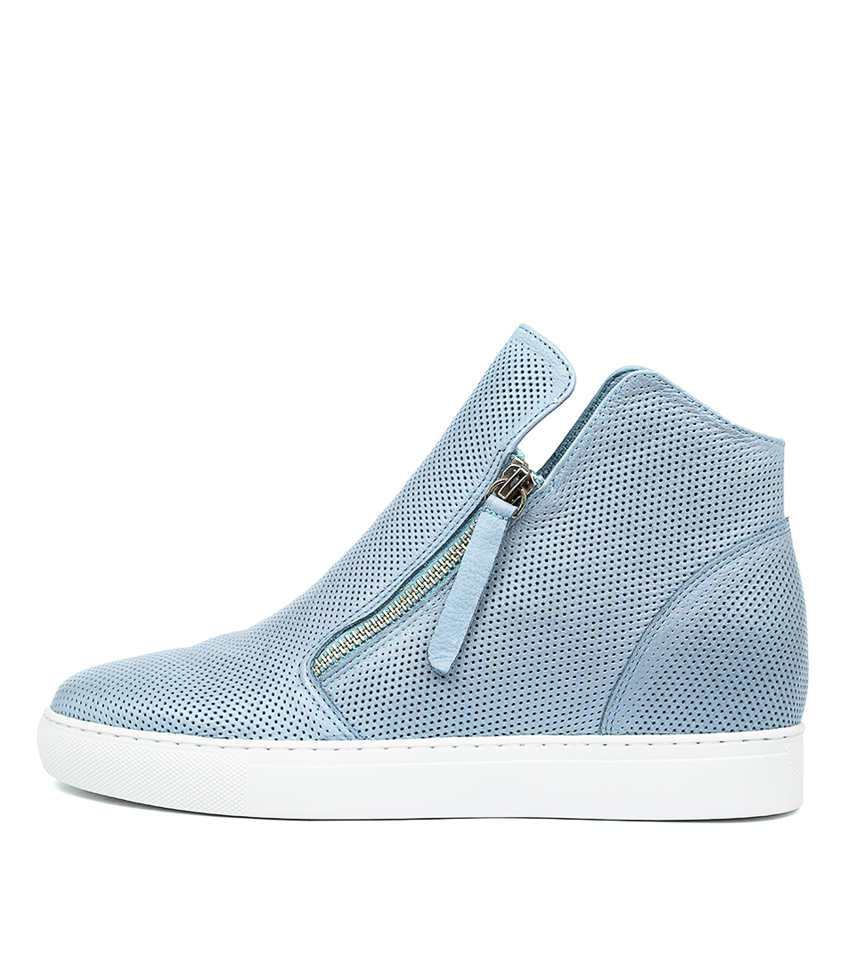 Buy Django & Juliette Gisele Sky Blue Sneakers online with free shipping