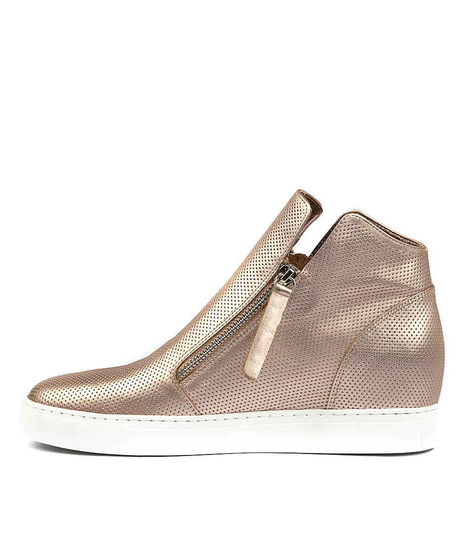 Buy Django & Juliette Gisele Rose Gold Sneakers online with free shipping