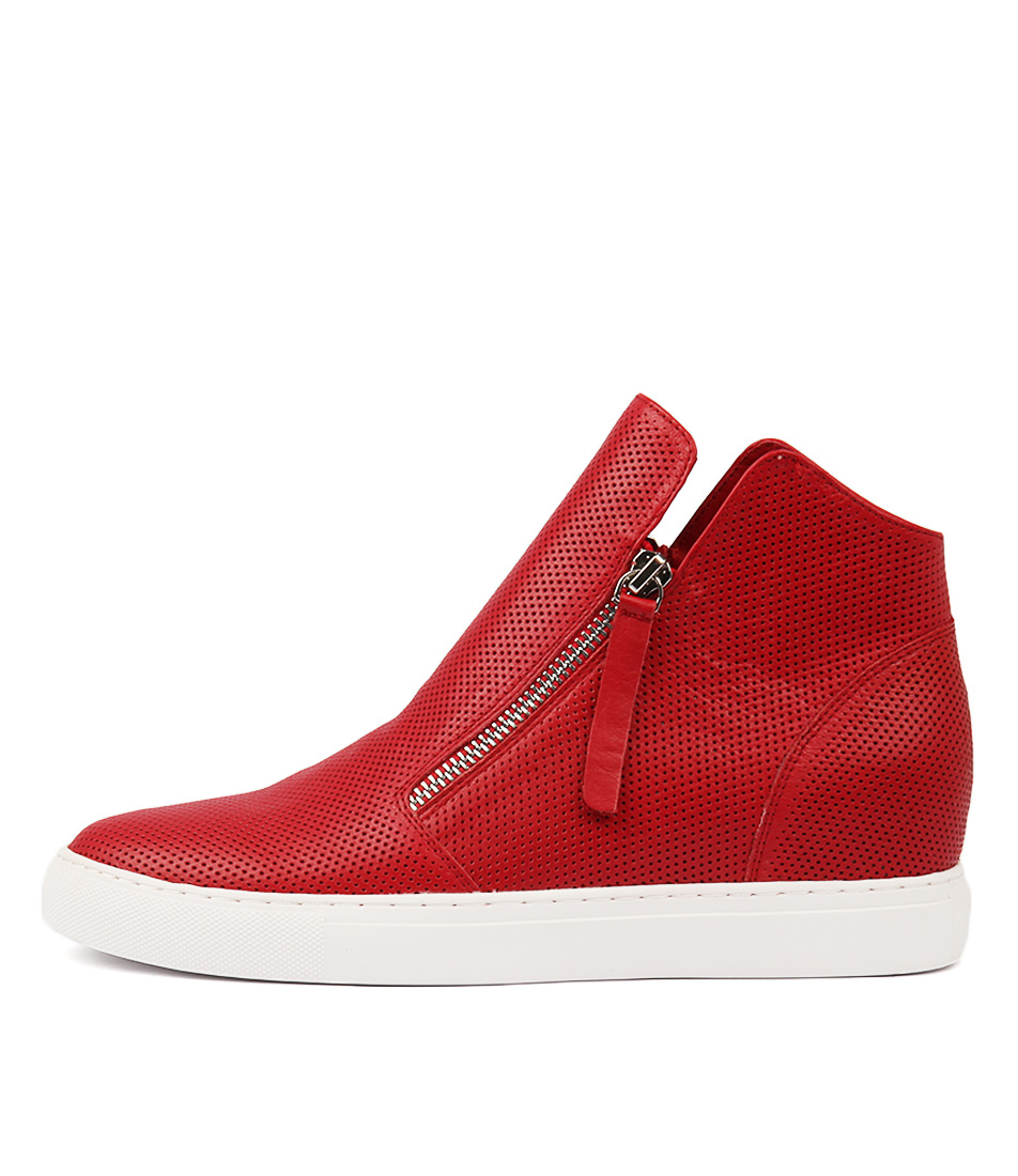 Buy Django & Juliette Gisele Red Sneakers online with free shipping