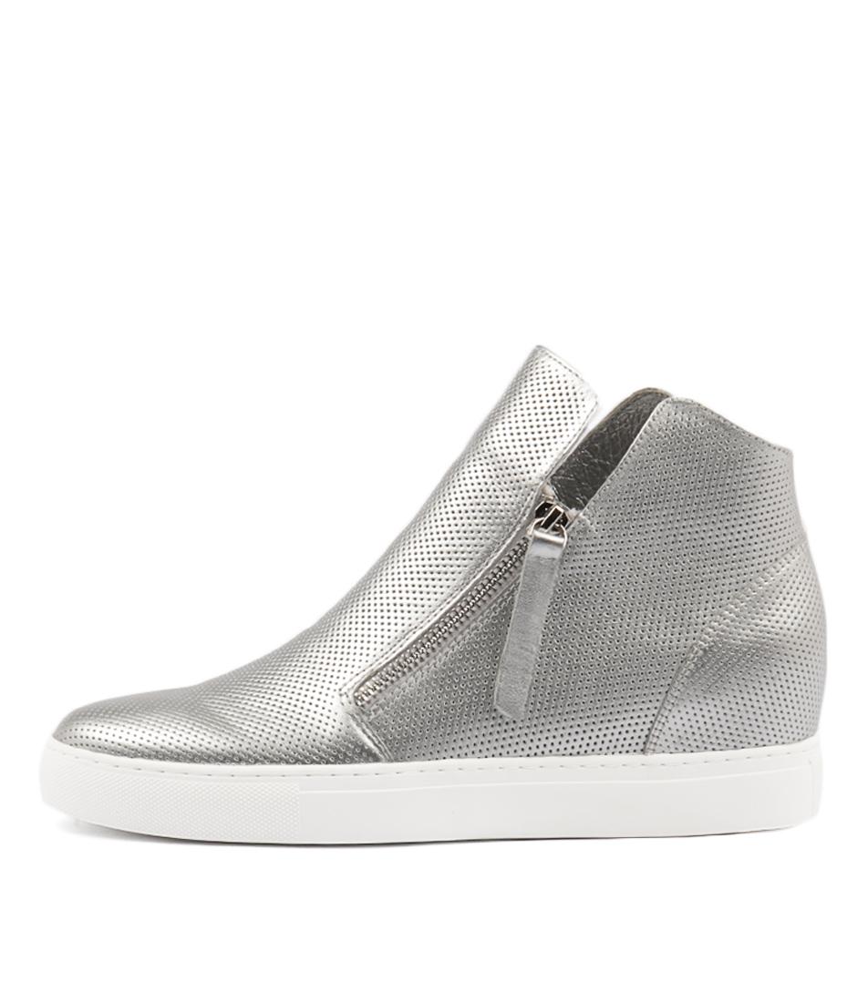 Buy Django & Juliette Gisele Silver Sneakers online with free shipping