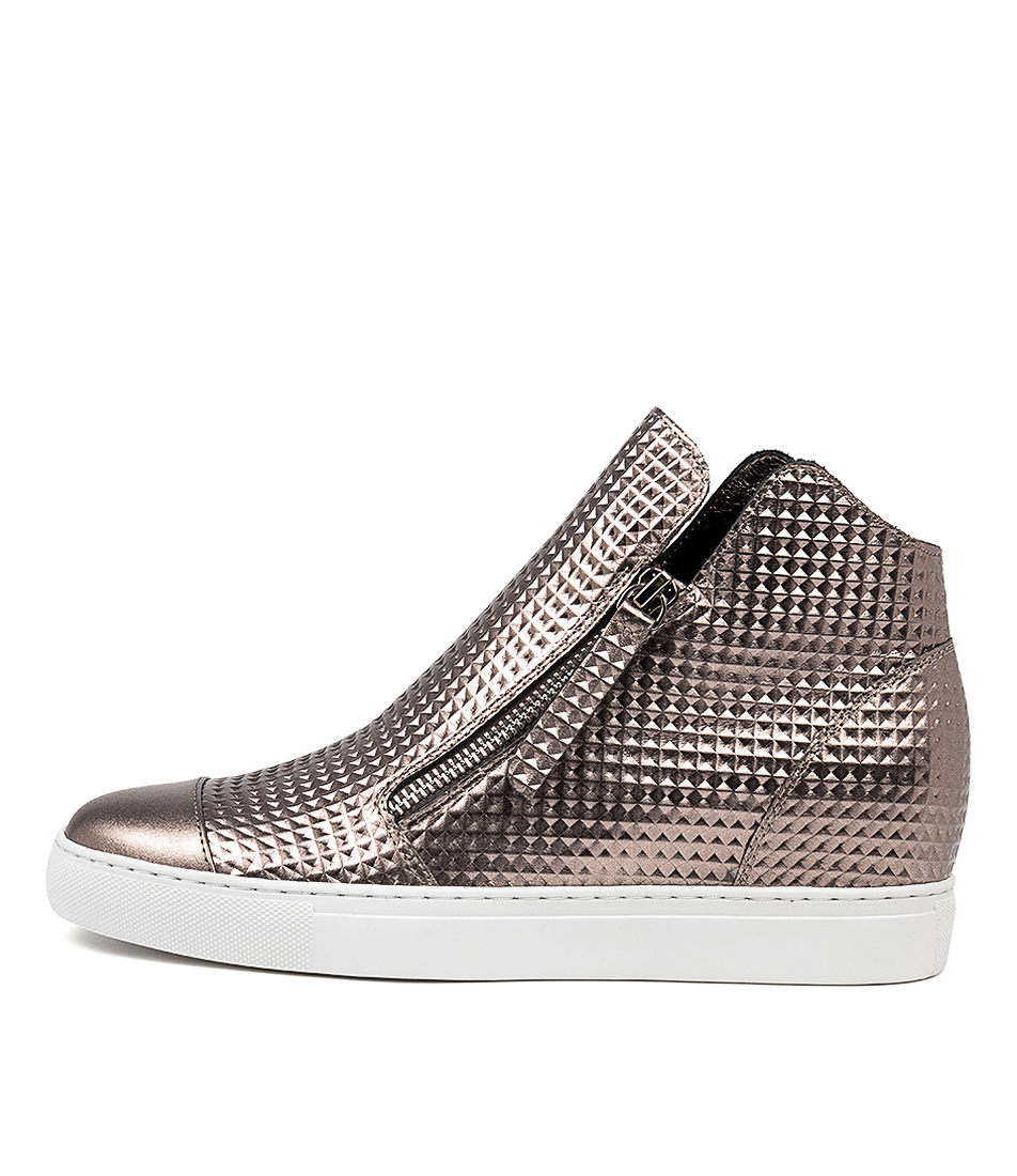 Buy Django & Juliette Glad Pewter Sneakers online with free shipping