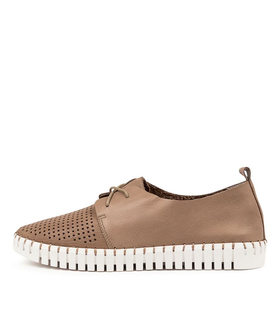 Buy Django & Juliette Huston Ash White Sole Sneakers online with free shipping