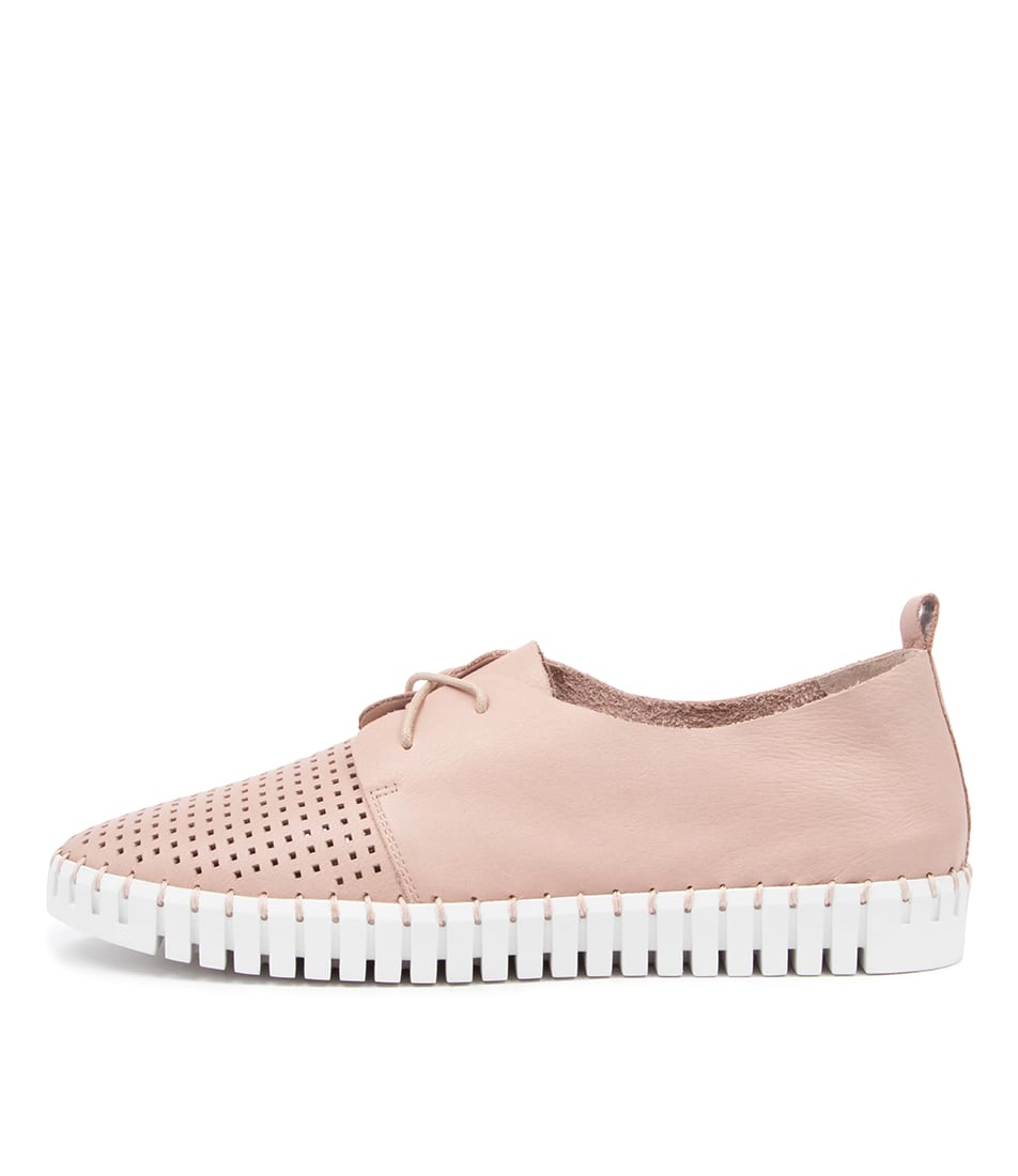 Buy Django & Juliette Huston Rose White Sole Sneakers online with free shipping