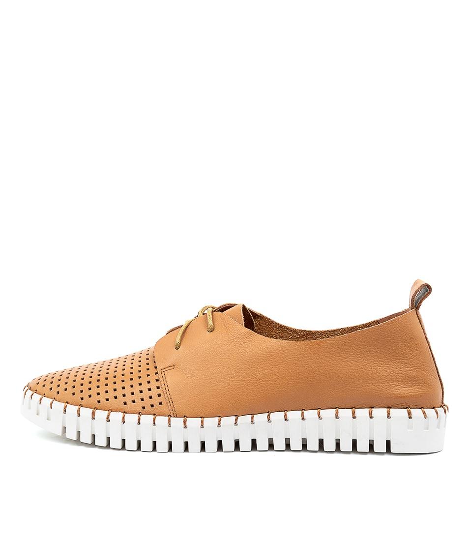 Buy Django & Juliette Huston Tan Sneakers online with free shipping