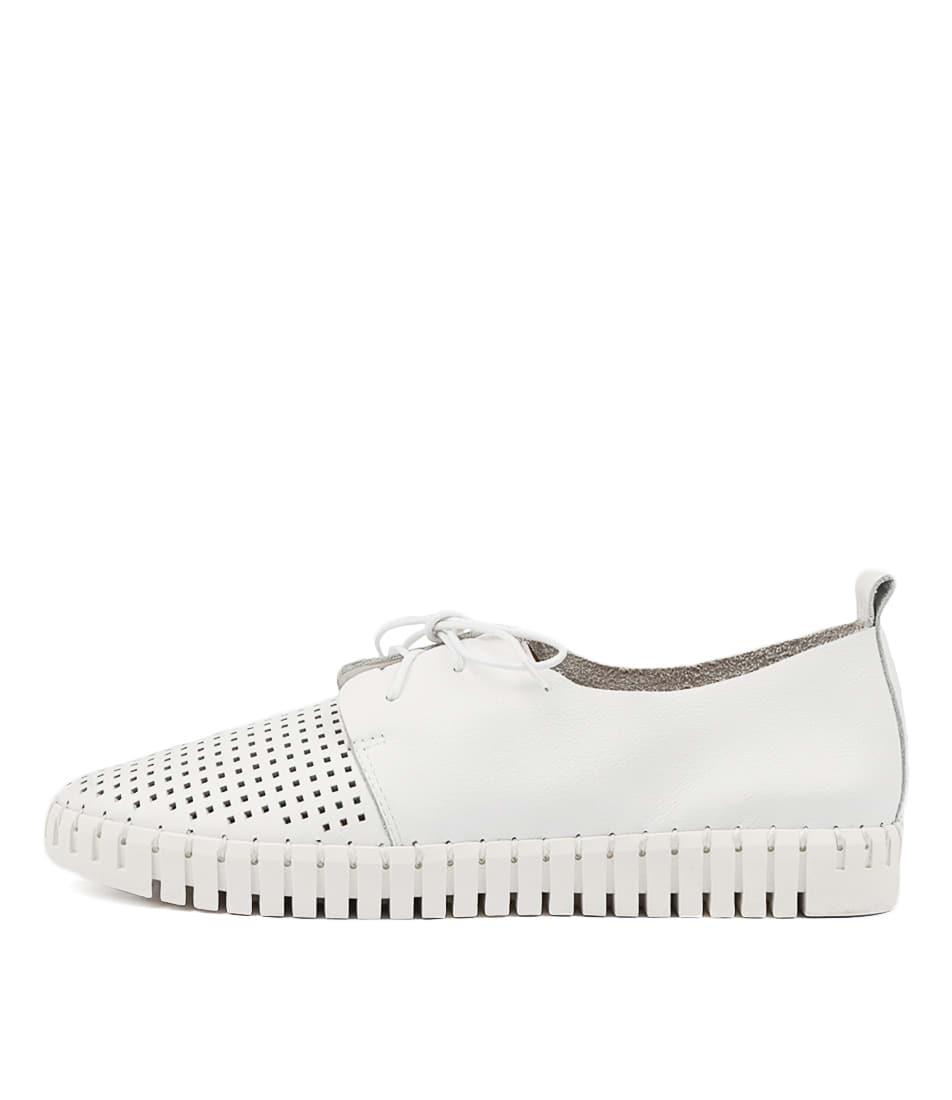 Buy Django & Juliette Huston White Sneakers online with free shipping